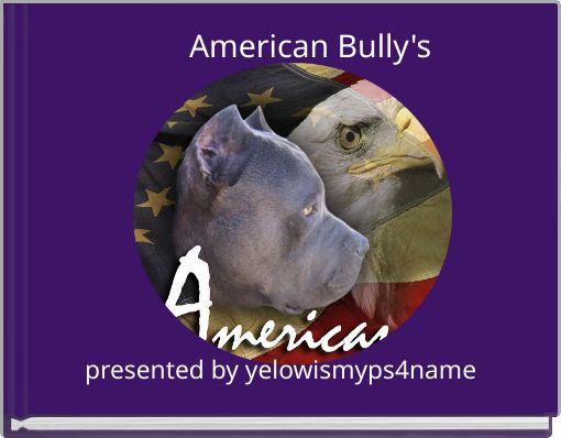 American Bully's
