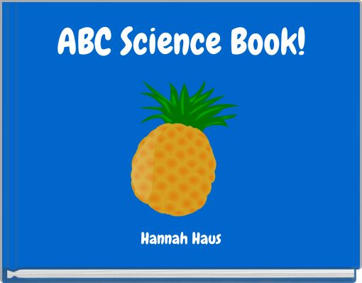 ABC Science Book!