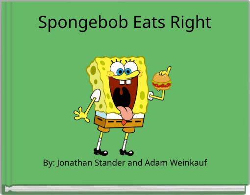 Spongebob Eats Right