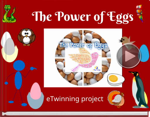 Book titled 'The Power of Eggs'