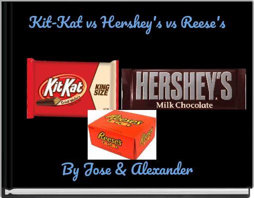 Kit-Kat vs Hershey's vs Reese's