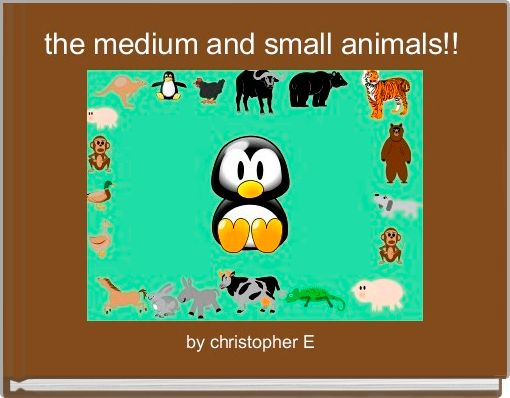 the medium and small animals!!