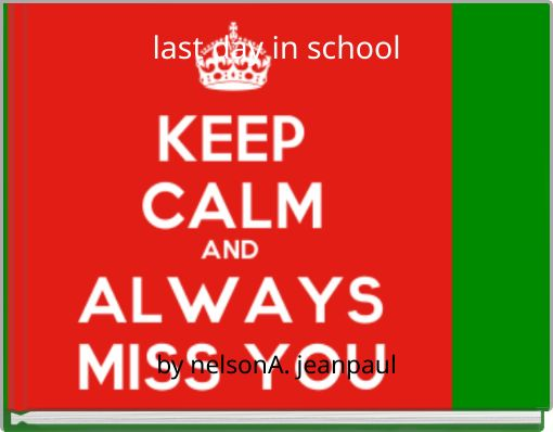 last day in school