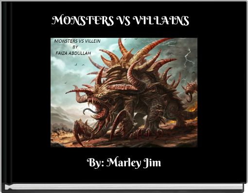 MONSTERS VS VILLAINS