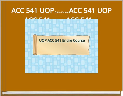 acc 541 View acc541- week4 codification research case from acc 541 541 at university of phoenix 1 codification research case bus/541 october 10, 2016 a what is the authoritative literature.