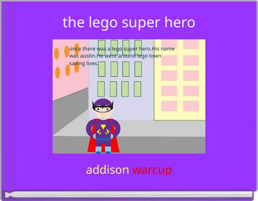 the lego super hero
