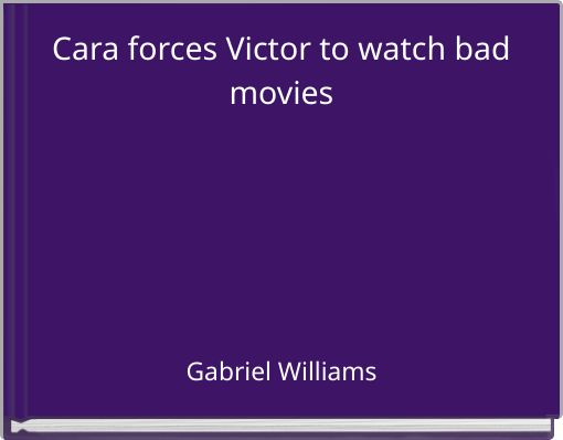 Cara forces Victor to watch bad movies