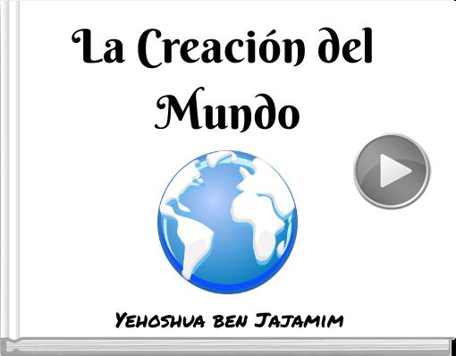 Book titled 'La Creación del Mundo'