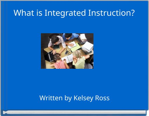 What Is Integrated Instruction Free Books Childrens Stories