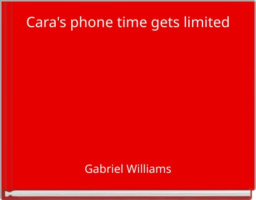 Cara's phone time gets limited