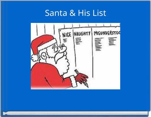 Santa & His List