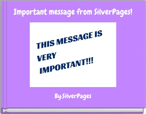Important message from SilverPages!