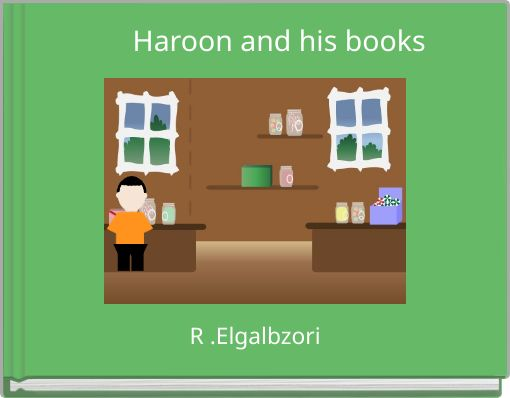 Haroon and his books