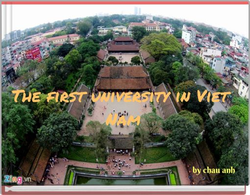 The first university in Viet Nam