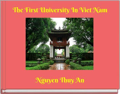 The First University In Viet Nam