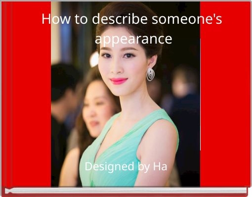 How to describe someone's appearance