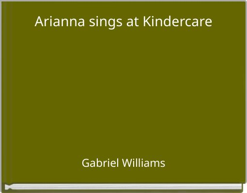 Arianna sings at Kindercare