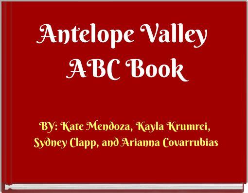 Antelope Valley ABC Book