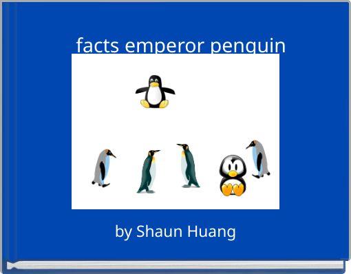 facts emperor penguin