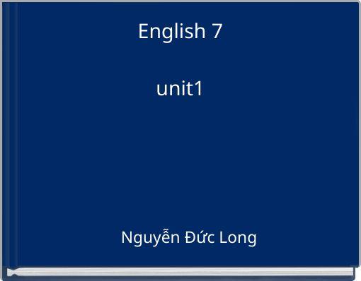 English 7unit1