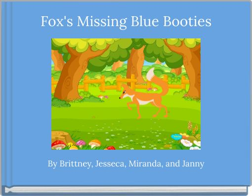 Fox's Missing Blue Booties