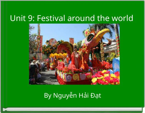 Unit 9: Festival around the world
