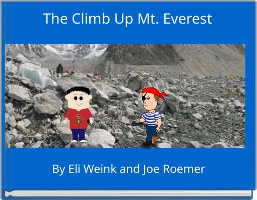 The Climb Up Mt. Everest