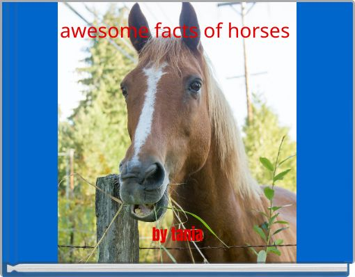 awesome facts of horses