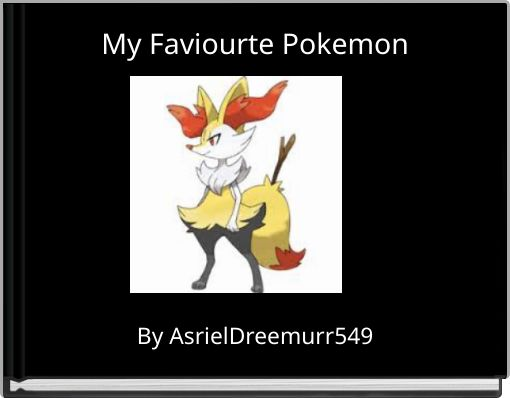 My Faviourte Pokemon