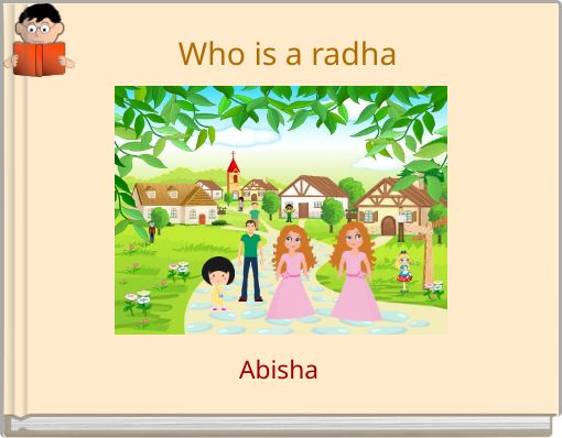 Who is a radha