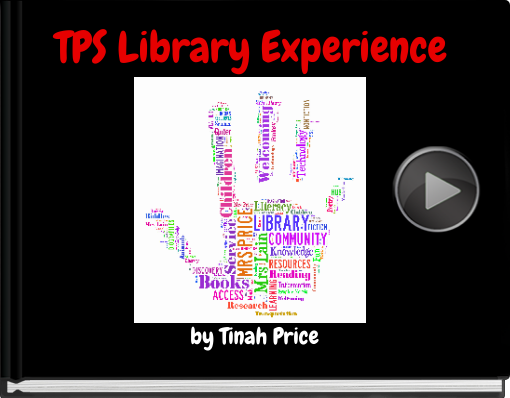 Book titled 'TPS Library Experience'