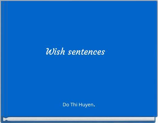 Wish sentences
