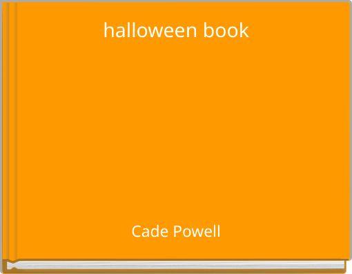 halloween book