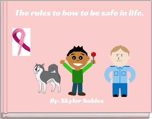 The rules to how to be safe in life.