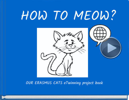 Book titled 'HOW TO MEOW?'