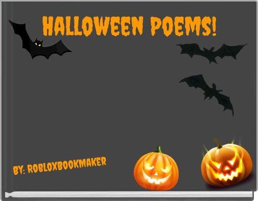 Halloween Poems!