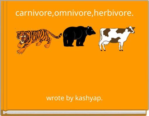 carnivore,omnivore,herbivore.