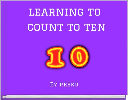 learning to count to ten