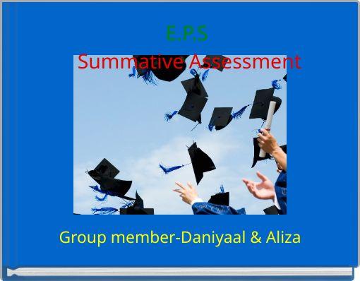 E.P.S Summative Assessment