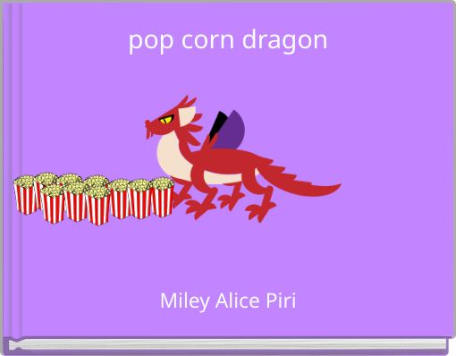 pop corn dragon