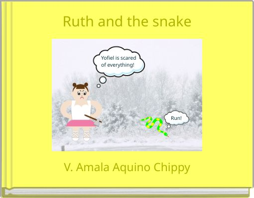 Ruth and the snake