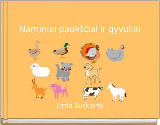 Naminiai paukščiai ir gyvuliai