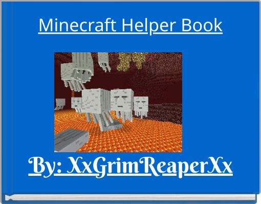 Minecraft Helper Book