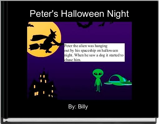 Peter's Halloween Night