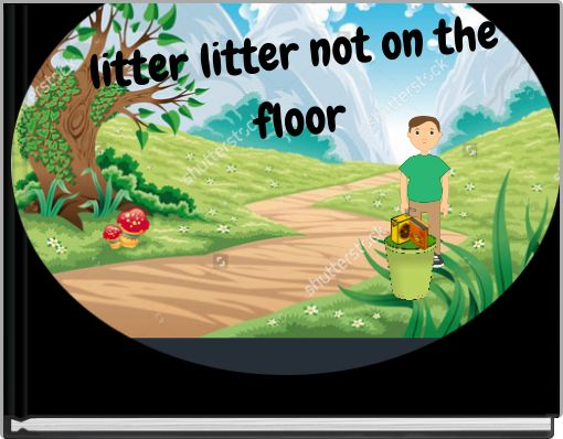 litter litter not on the floor