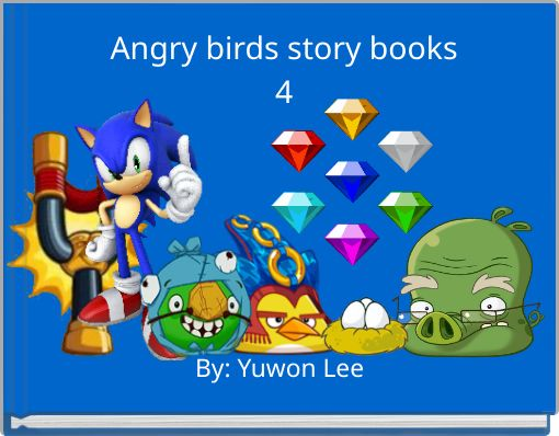 Angry birds story books4