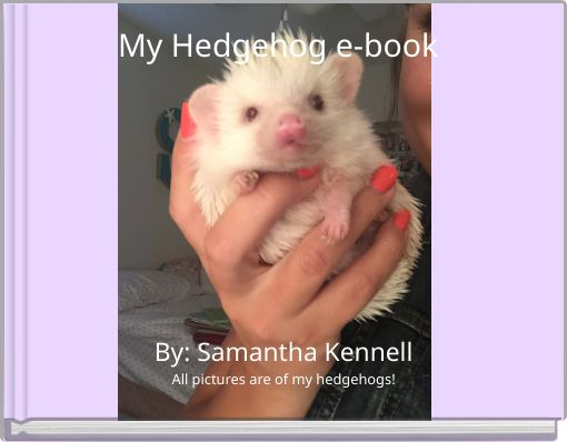 My Hedgehog e-book