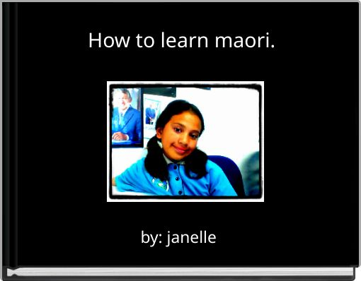 How to learn maori.