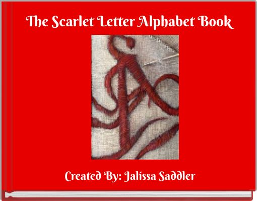 The Scarlet Letter Alphabet Book