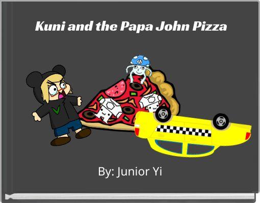 Kuni and the Papa John Pizza